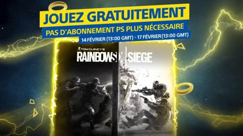 PS Store : Jouez à Rainbow Six Siege gratuitement ce week-end !