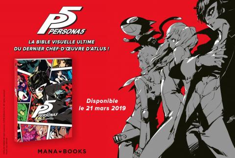 Persona 5 : l'artbook officiel arrive en mars dans nos librairies