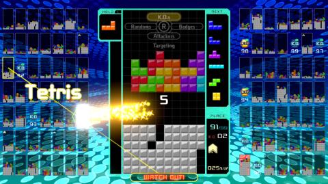 Tetris 99 : le battle royale du puzzle-game est disponible sur Nintendo Switch