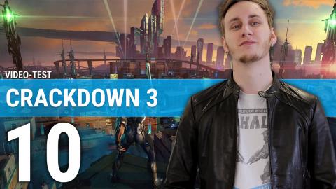 Crackdown 3 : notre avis en quelques minutes
