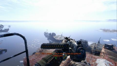 Infiltration au port