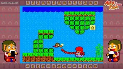 Alex Kidd in Miracle World : le classique de la Master System arrive sur Nintendo Switch