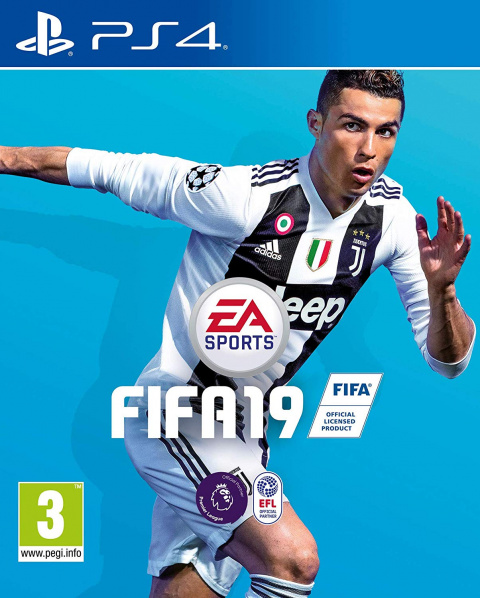 FIFA 19 : EA retire Cristiano Ronaldo de la jaquette du jeu