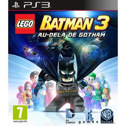 LEGO Batman 3 : Au-delà de Gotham sur PS3