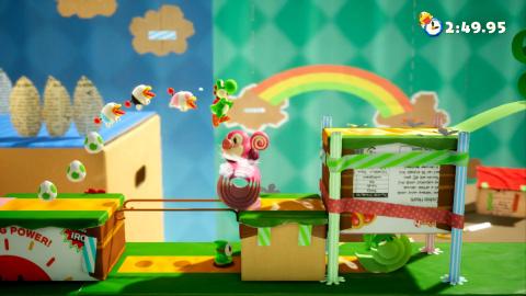 """Yoshi's Crafted World : Le jeu de plates-formes mignon """"fait-maison"""""""
