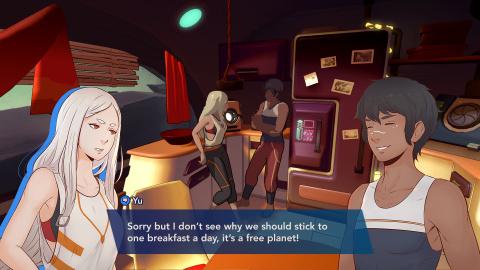 The Game Bakers (Furi) tease Haven, un RPG jouable à deux