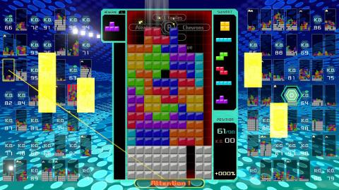 Tetris 99 : Des frissons jusqu'au bout !