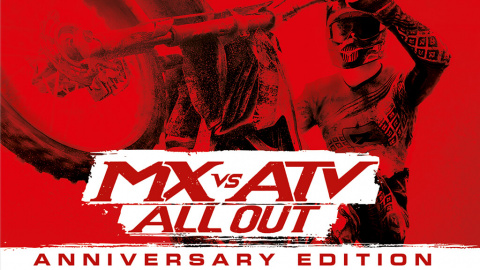 MX vs ATV All Out - Anniversary Edition sur PS4