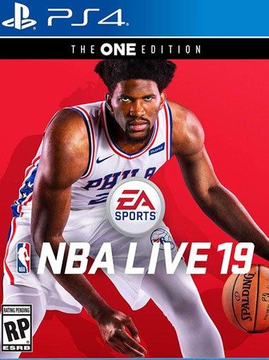 NBA Live 19 sur PS4
