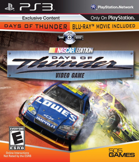 Days of Thunder : NASCAR Edition sur PS3