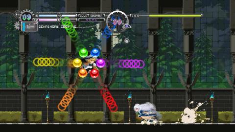Touhou Luna Nights : le metroidvania est sorti d'accès anticipé