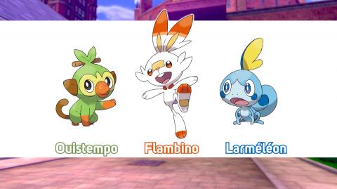 Game Freak annonce Pokémon Épée / Bouclier sur Nintendo Switch