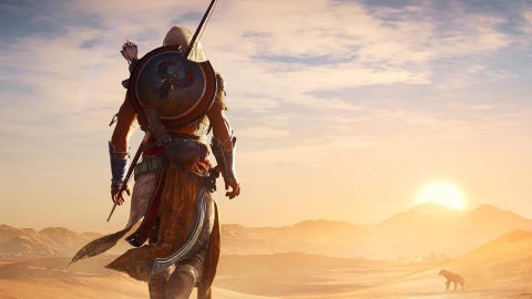 Assassin's Creed VR : Coopérer pour sortir de la superbe pyramide de Nebka