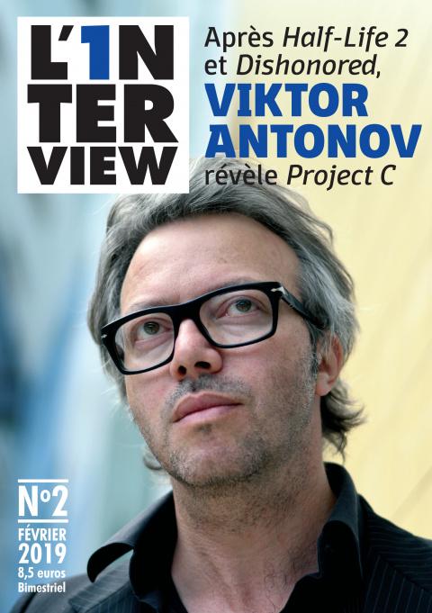 L'1nterview : un mook dédié au directeur artistique Viktor Antonov (Half-Life 2, Dishonored)