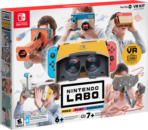 Toy-Con 04 - VR Kit sur Switch