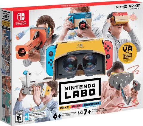 Toy-Con 04 - VR Kit sur Switch