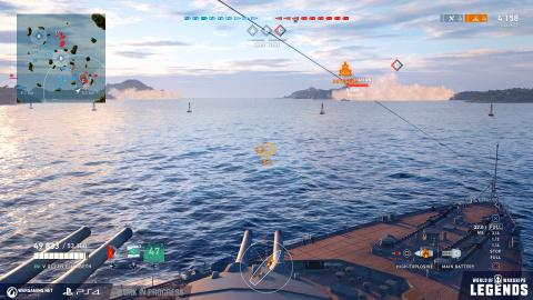 World of Warships : Legends met le cap sur l'accès anticipé