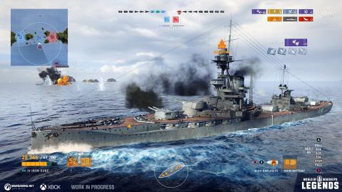 World of Warships : Legends va lever l'ancre en accès anticipé demain