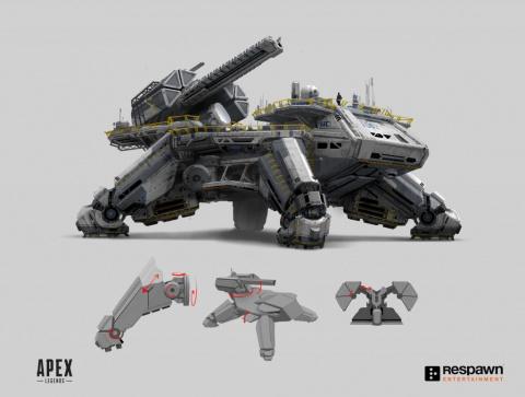 Les créateurs d'Apex Legends partagent un lot d'images conceptuelles