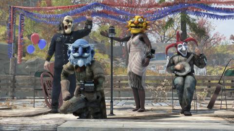 Fallout 76 : Bethesda détaille l'évènement saisonnier Parade de Carnaval et le patch 7