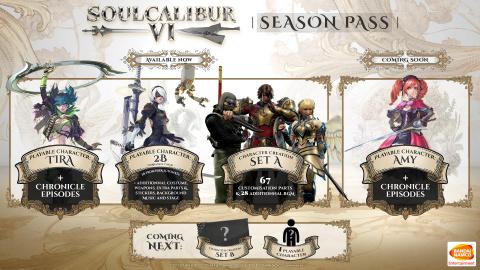 [MàJ] SoulCalibur VI : Amy arrive le 26 mars