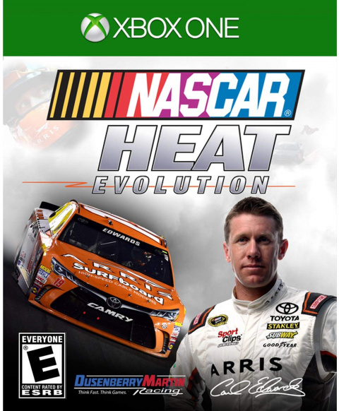 NASCAR Heat Evolution sur ONE