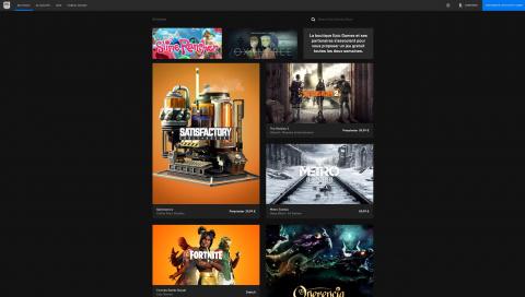 L'Epic Games Store ajoute la recherche à son application