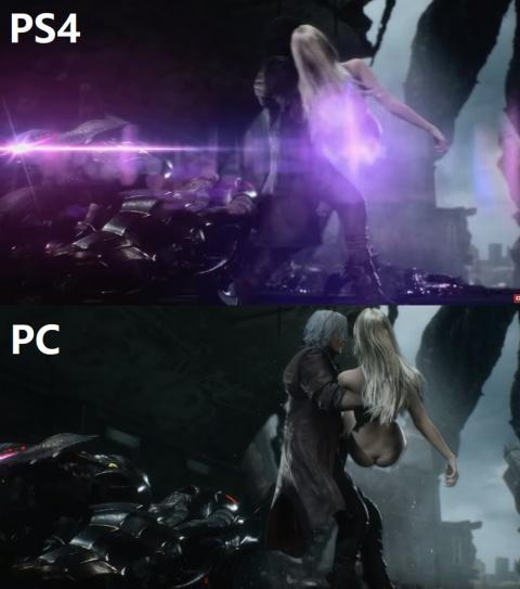 Devil May Cry 5 : une scène censurée en Occident