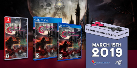 Bloodstained : Curse of the Moon - une édition physique et une collector chez Limited Run Games