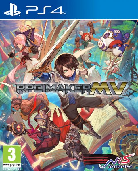 RPG Maker MV sur PS4