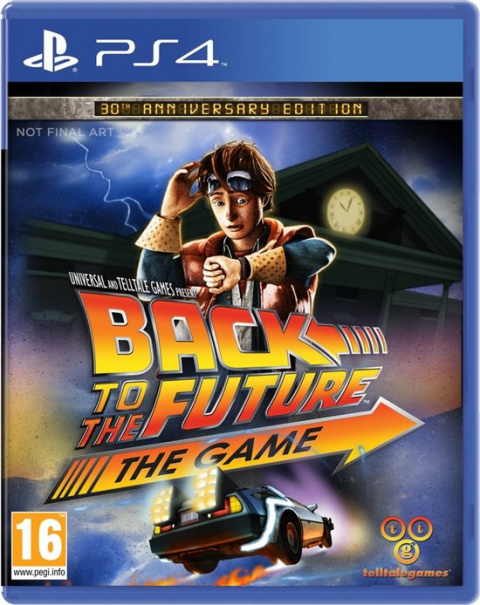 Back to the Future : The Game – 30th Anniversary Edition sur PS4