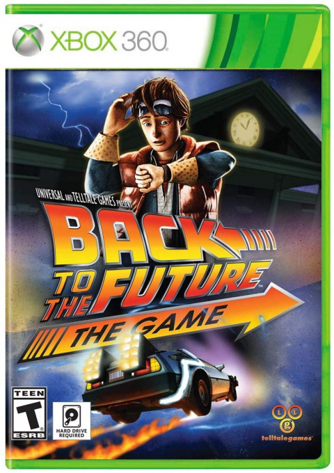 Back to the Future : The Game – 30th Anniversary Edition sur 360