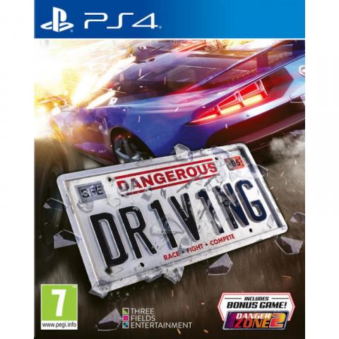 Dangerous Dr1v1ng sur PS4