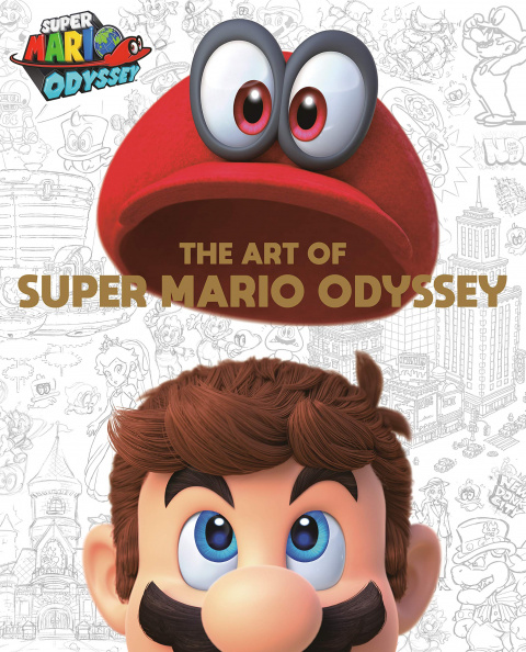 Super Mario Odyssey : un artbook arrive en octobre en Occident