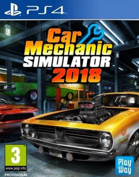 Car Mechanic Simulator 2018 sur PS4