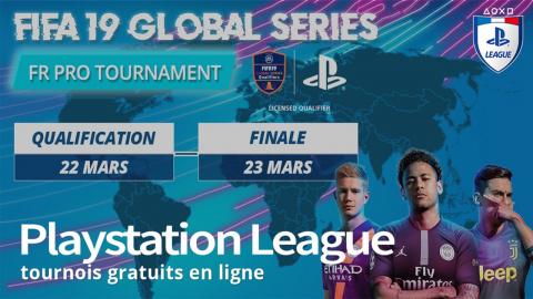 PS League : Un tournoi événement FIFA 19 ce week-end !