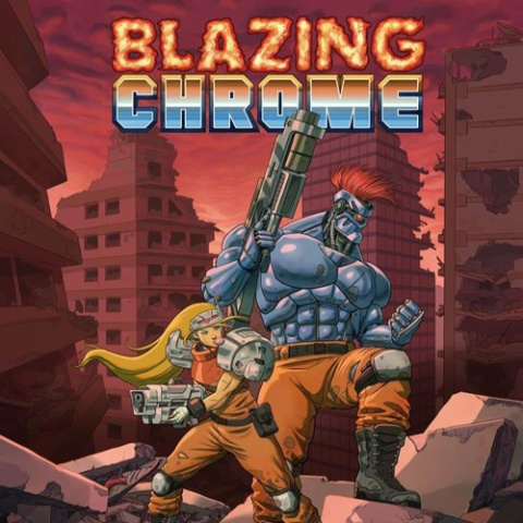 Blazing Chrome sur Switch