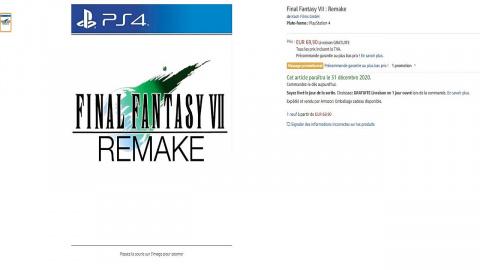 Final Fantasy VII Remake aperçu en précommande chez plusieurs revendeurs