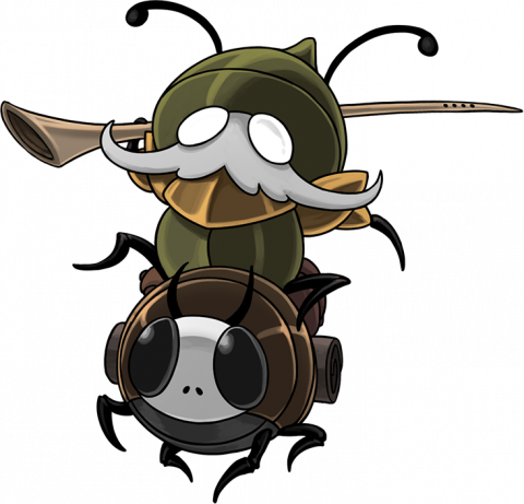 Hollow Knight : Silksong - quelques artworks de personnages inédits