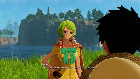 Jeanne et Luffy