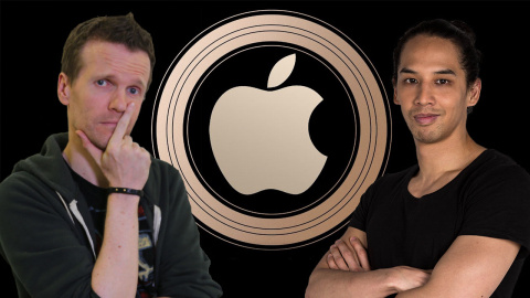 Logan, Sylvain et Lâm commentent la conférence Keynote d'Apple