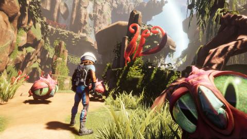 Journey to the Savage Planet : L'exploration décomplexée, entre Subnautica et No Man's Sky