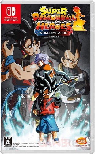 Super Dragon Ball Heroes : World Mission sur Switch
