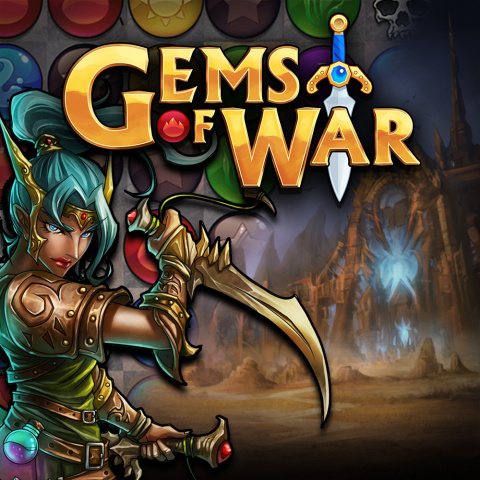 Gems of War sur Android