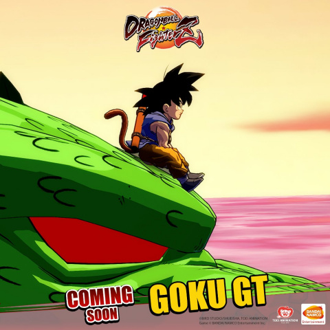 Dragon Ball FighterZ : Goku GT pourra bien se transformer en SSJ 4