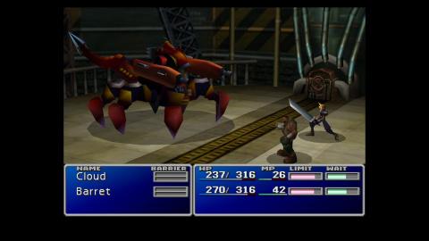 Final Fantasy VII : Un portage Switch sans fioritures