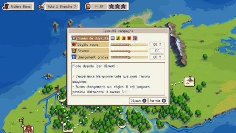 Wargroove 1.2.0 : Le tactical génial de Chucklefish Games