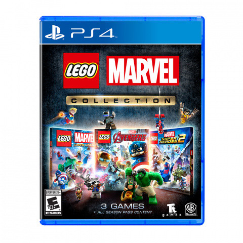 LEGO Marvel Collection sur PS4