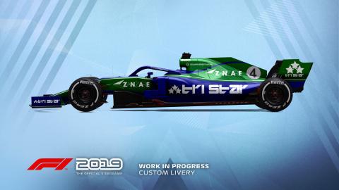F1 2019 sortira avec un peu d'avance