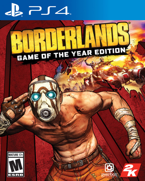 Borderlands : Game of the Year Edition sur PS4